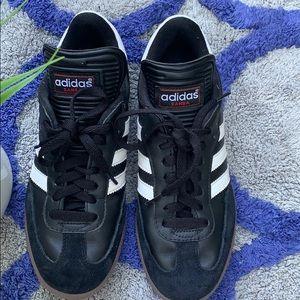Adidas samba men shoes  size 6.5 black & white clr